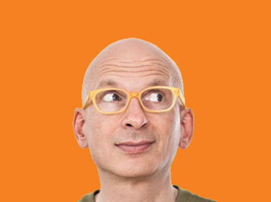 We love this! Seth Godin: Low & Slow (vs. fear)
